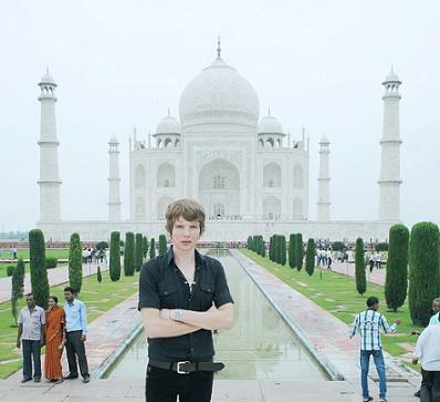 Saša Milivojev - Taj Mahal, Agra, India