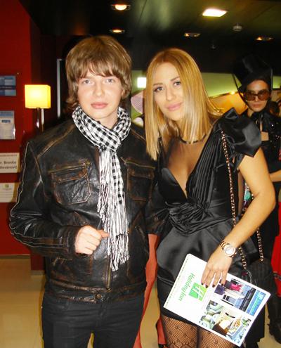 Saša Milivojev i Ana Nikolić