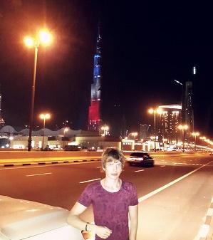 Saša Milivojev - Burj Khalifa, Dubai, United Arab Emirates