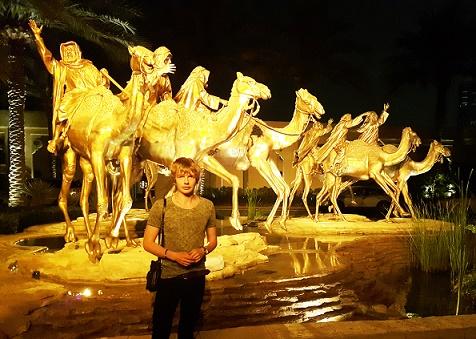 Saša Milivojev - Royal Mirage, Dubai, United Arab Emirates