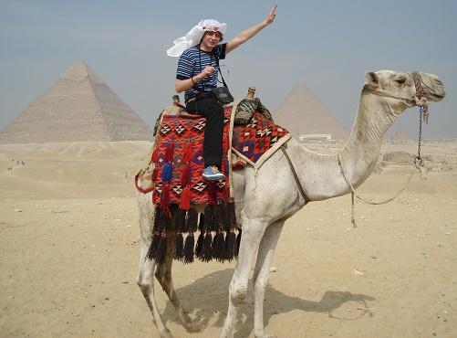 Saša Milivojev - Giza, Cairo, Egypt