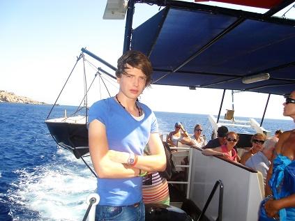 Saša Milivojev - Lindos, Greece