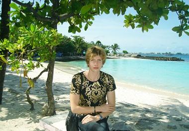 Saša Milivojev - Male, Maldives