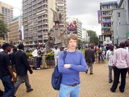 Saša Milivojev - Nairobi, Kenya