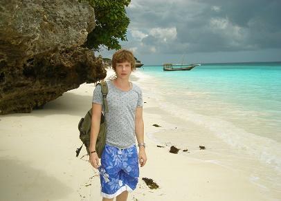 Saša Milivojev - Nungwi beach, Zanzibar, Tanzania